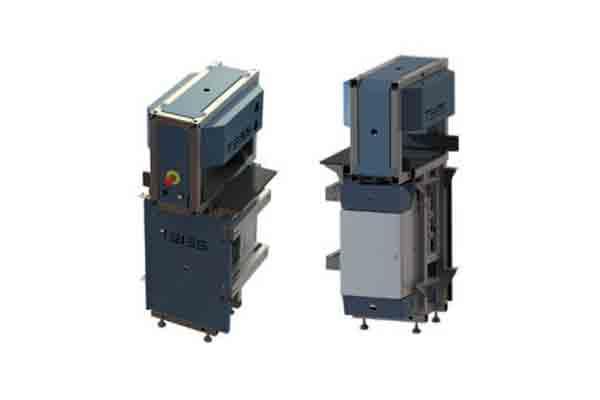 Manipulační zařízení pro změnu orientace krabic v balící lince