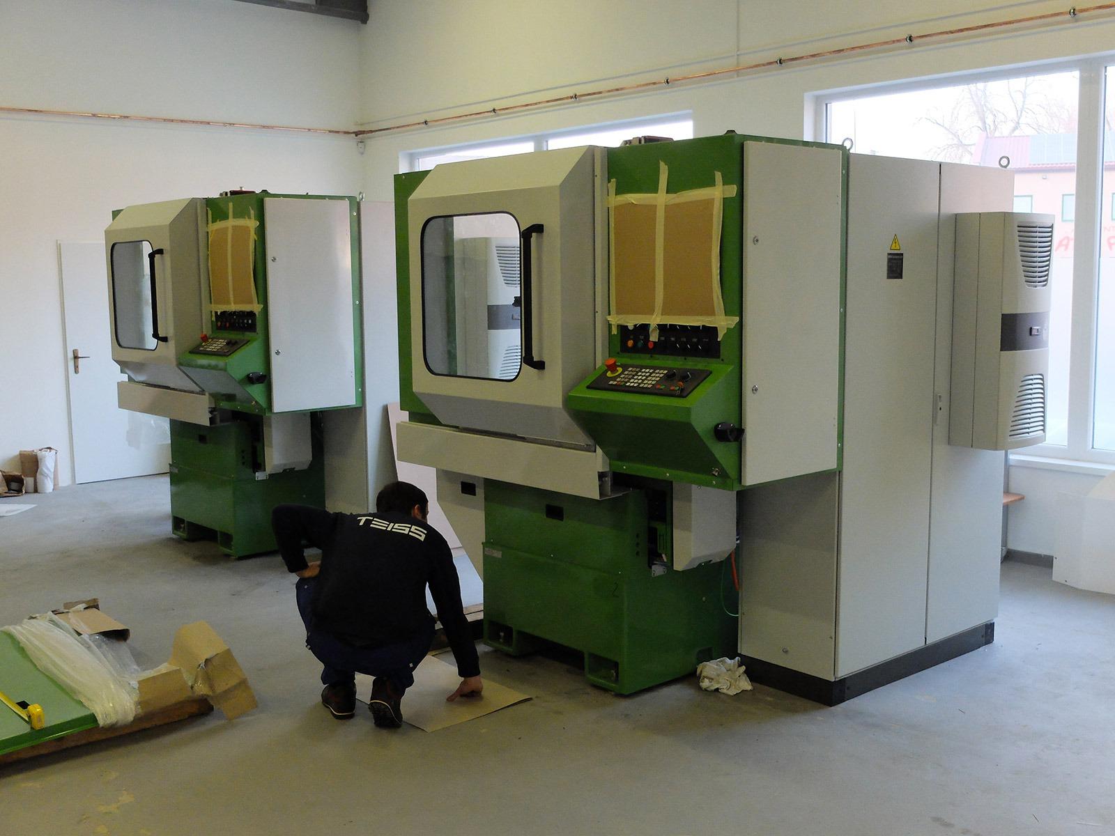 Teiss – Výroba průmyslových strojů na míru