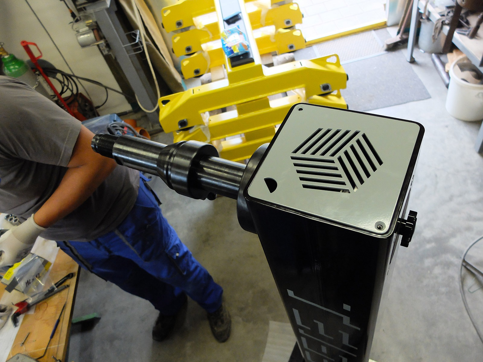 Konstrukce a servis jednoúčelových strojů – želešice